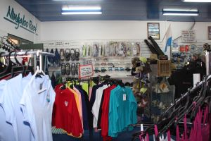 Dive Shop, lots to choose from